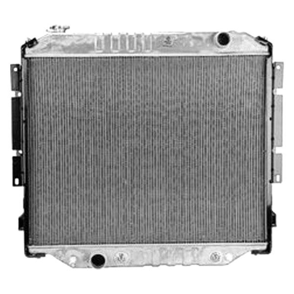 Replace ford f engine coolant radiator