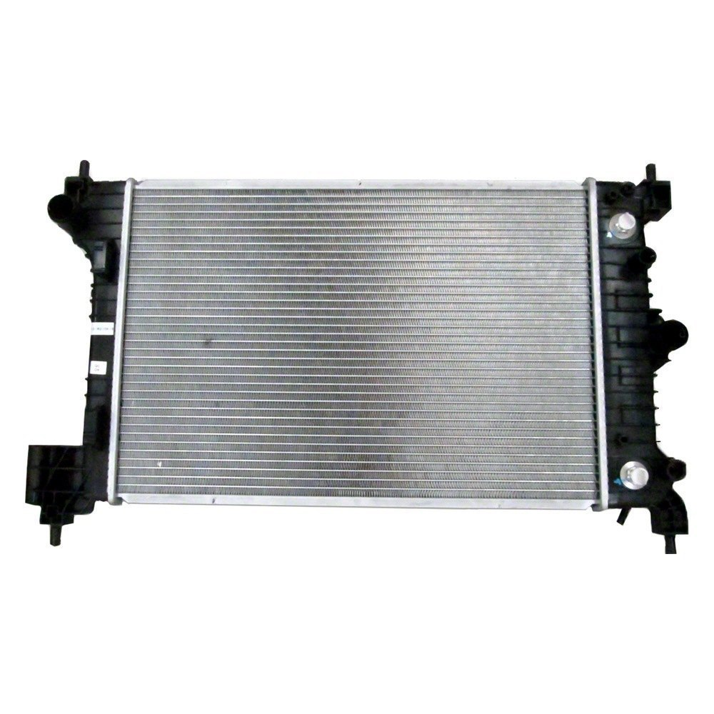 Replace chevy sonic engine coolant radiator