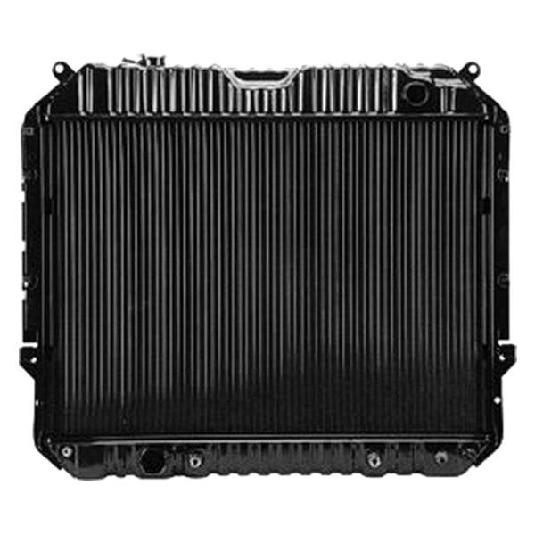 Replace ford e series engine coolant radiator