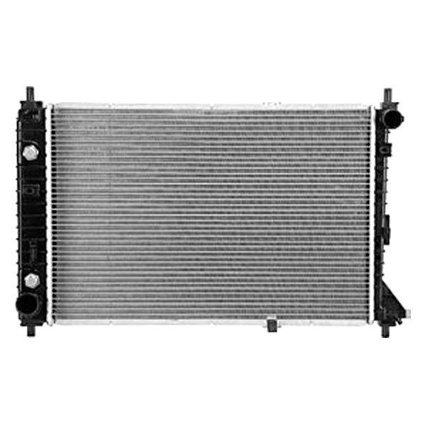 Replace ford mustang radiator