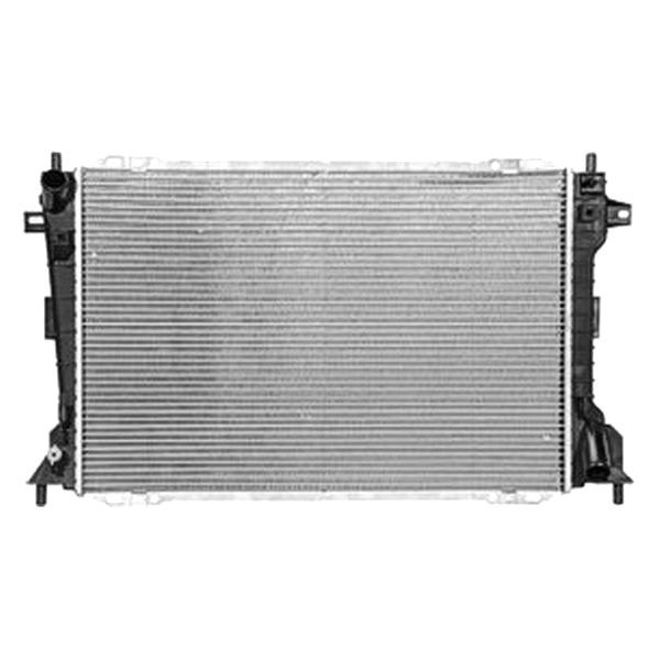 Replace ford crown victoria engine coolant radiator