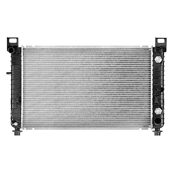 Replace chevy silverado engine coolant radiator