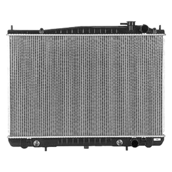 replace nissan frontier  radiator