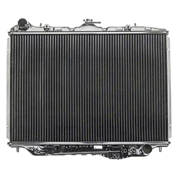 Replace isuzu rodeo radiator