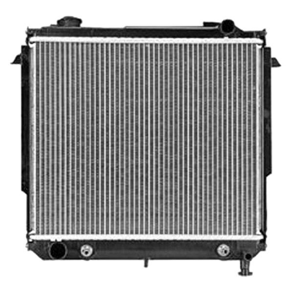 Replace 174 Jeep Cherokee 1995 Engine Coolant Radiator