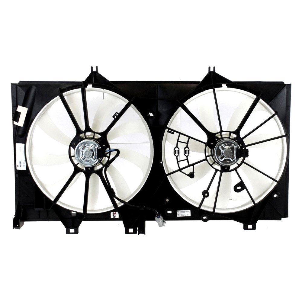 replace toyota camry 2012 2013 engine cooling fan assembly. Black Bedroom Furniture Sets. Home Design Ideas
