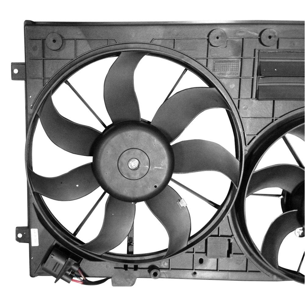Volkswagen Jetta Dealer Parts: Volkswagen Jetta 2012 Engine Cooling Fan Assembly