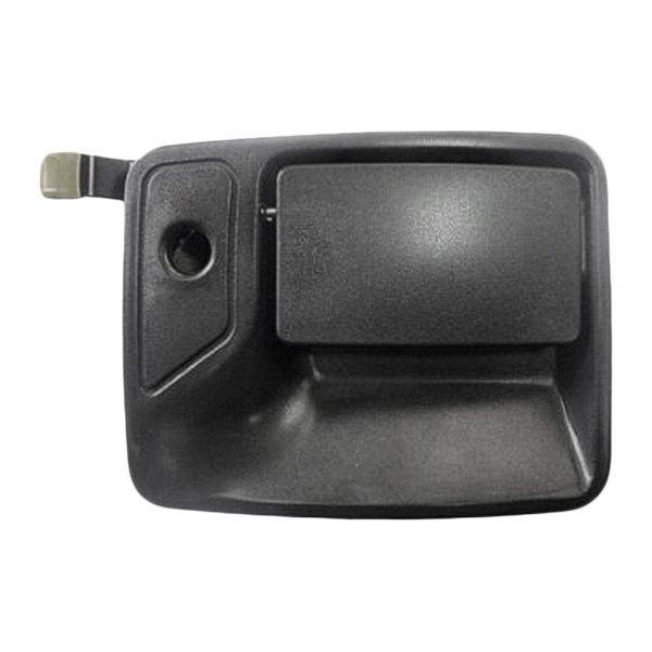 Replace fo1311123 front passenger side exterior door handle for Door latch carid
