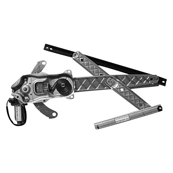 Replace Ford F 150 2001 Front Power Window Regulator With Motor