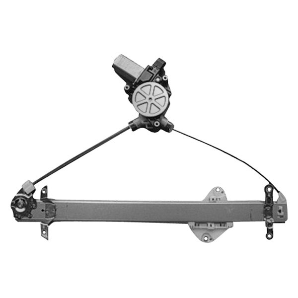 Replace Subaru Forester 2009 2013 Front Power Window Regulator With Motor
