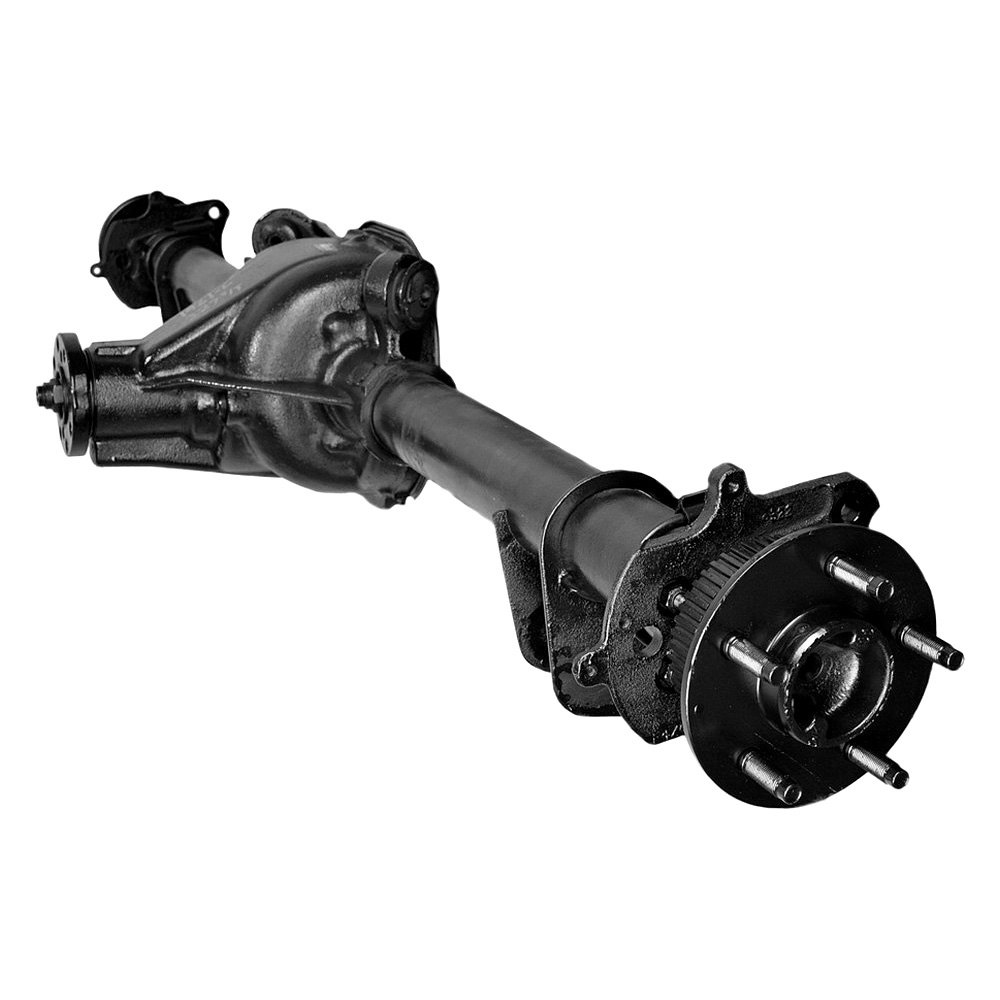 assemblyreplace remanufactured rear axle assembly with backing plates and axle