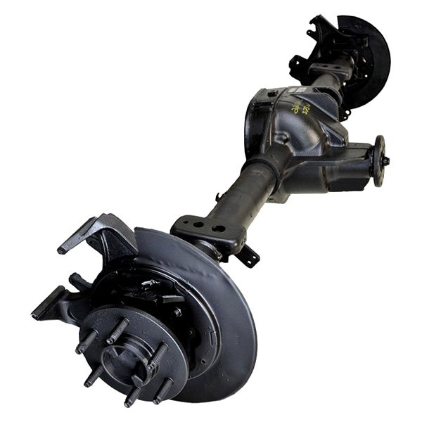 Ford Rear Axle Assembly : Replace ford f rear disc brakes