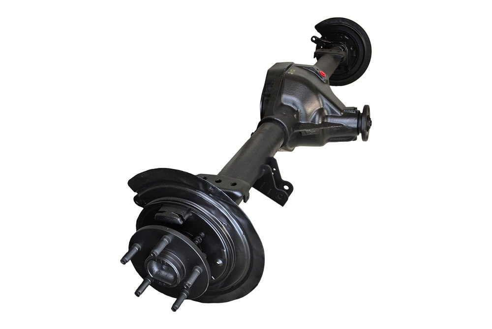 replace dodge ram 1500 2008 remanufactured rear axle assembly with backing plates and axle shafts. Black Bedroom Furniture Sets. Home Design Ideas