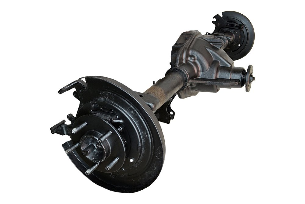 Ford Rear Axle Assembly : Replace ford f rear disc rotor brakes with lug