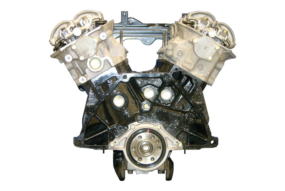 replace nissan frontier  remanufactured long block engine