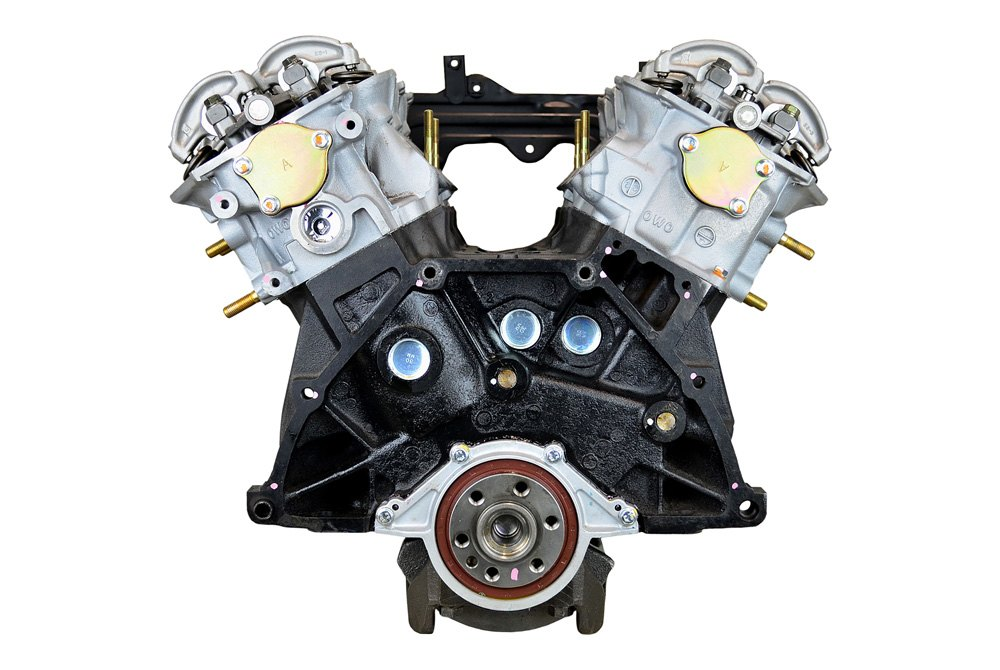 Replace® - Nissan Frontier 2001 Remanufactured Long Block ...