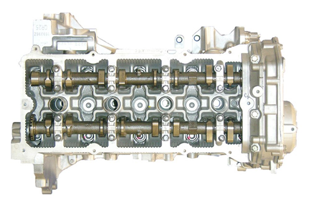 Replace Nissan Altima 2003 2005 Remanufactured Engine Long Block