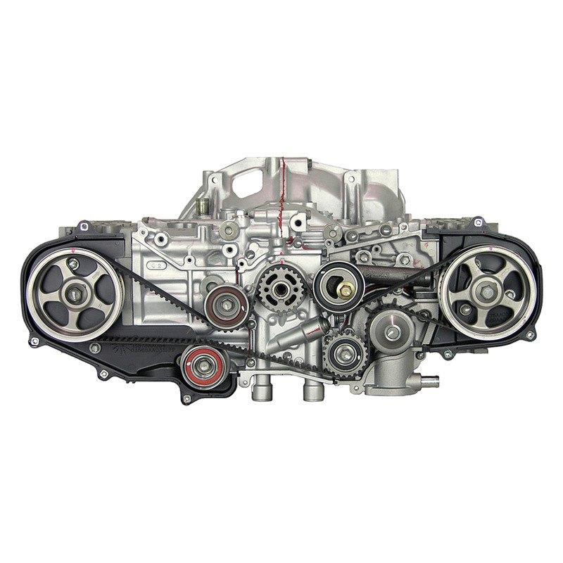Replace Subaru Impreza 1996 Remanufactured Engine Long