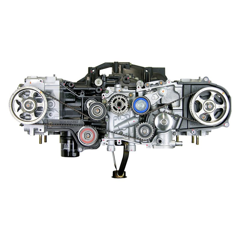 Replace Subaru Forester 2003 Remanufactured Engine Long