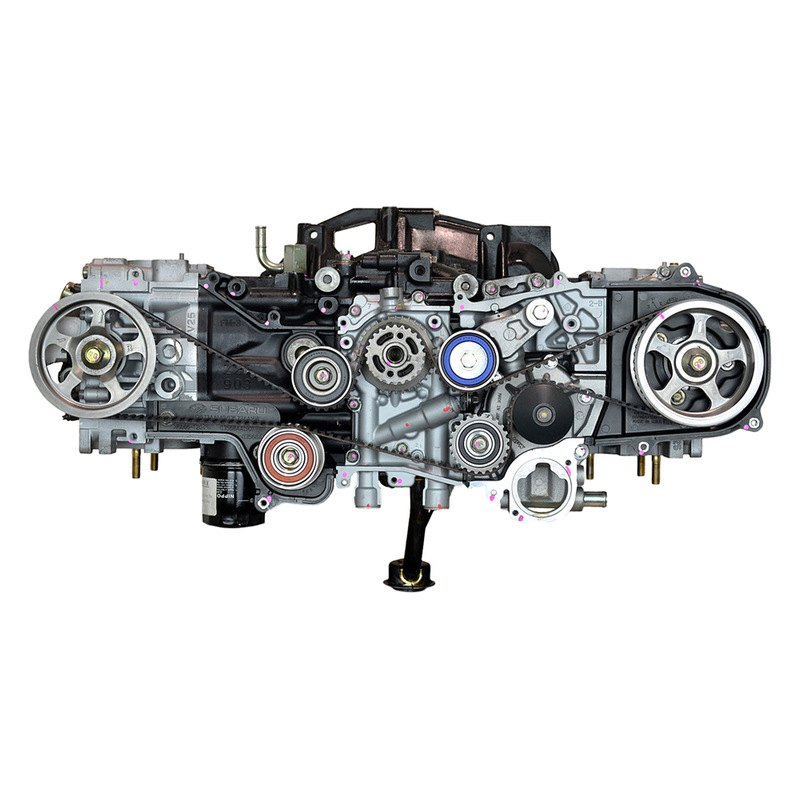 Replace Subaru Outback 2007 Remanufactured Engine Long