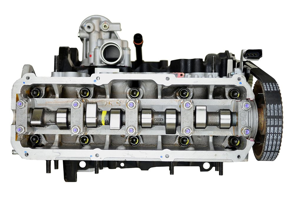 Replace Volkswagen Beetle 2005 Remanufactured Engine Long Block