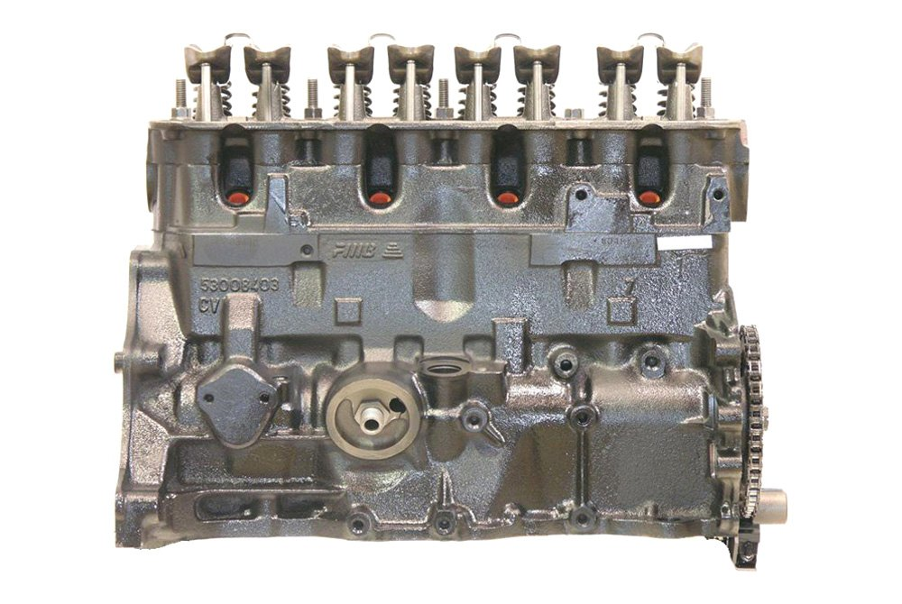 Replace Jeep Wrangler 1989 Remanufactured Engine Long Block