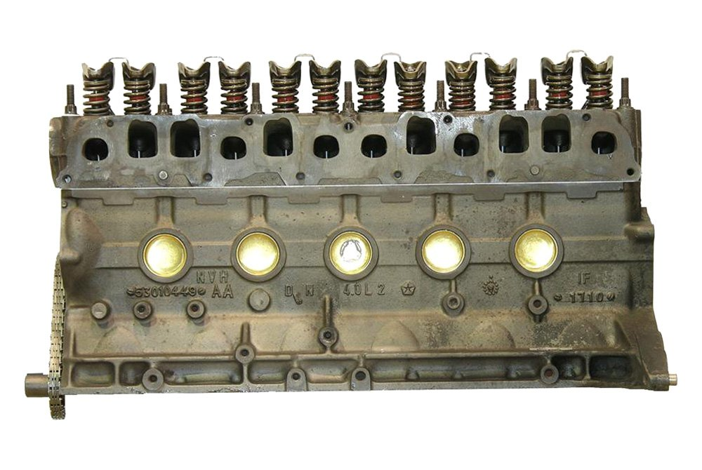 Replace Jeep Cherokee 2000 Remanufactured Engine Long Block