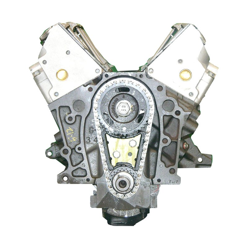 Replacement Engine Parts: Chevy Impala 2003 Remanufactured Engine Long Block
