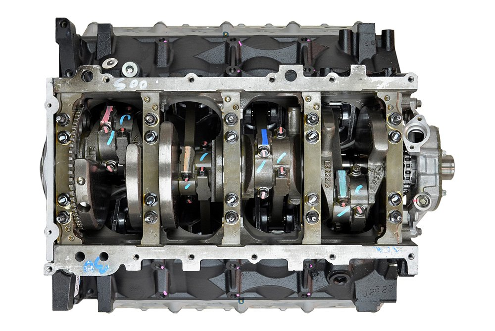 Replace Chevy Avalanche 2007 Remanufactured Engine Long Block