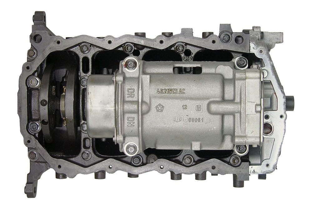Replace Jeep Liberty 2004 Remanufactured Engine Long Block
