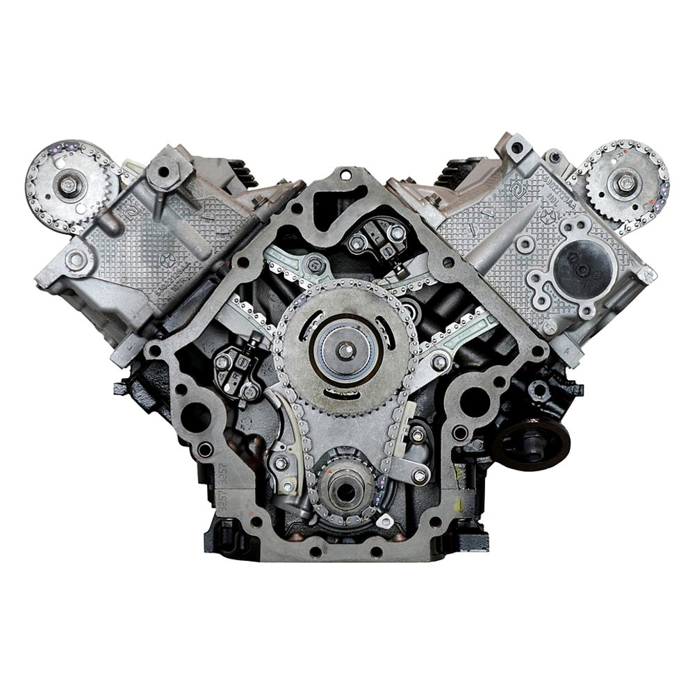 Replacement Engine Parts: Dodge Ram 2012 Remanufactured Engine Long Block