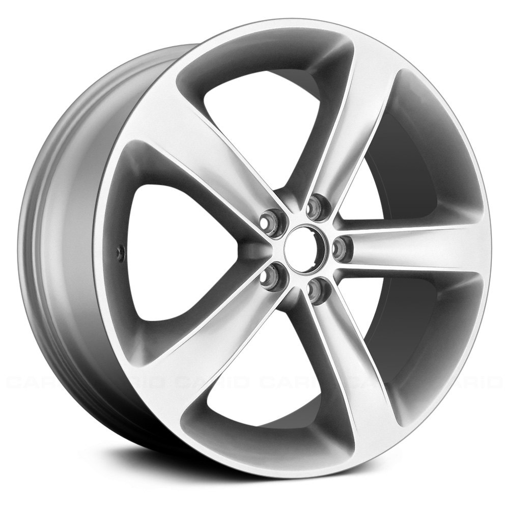 replace dodge challenger   remanufactured  spokes factory alloy wheel