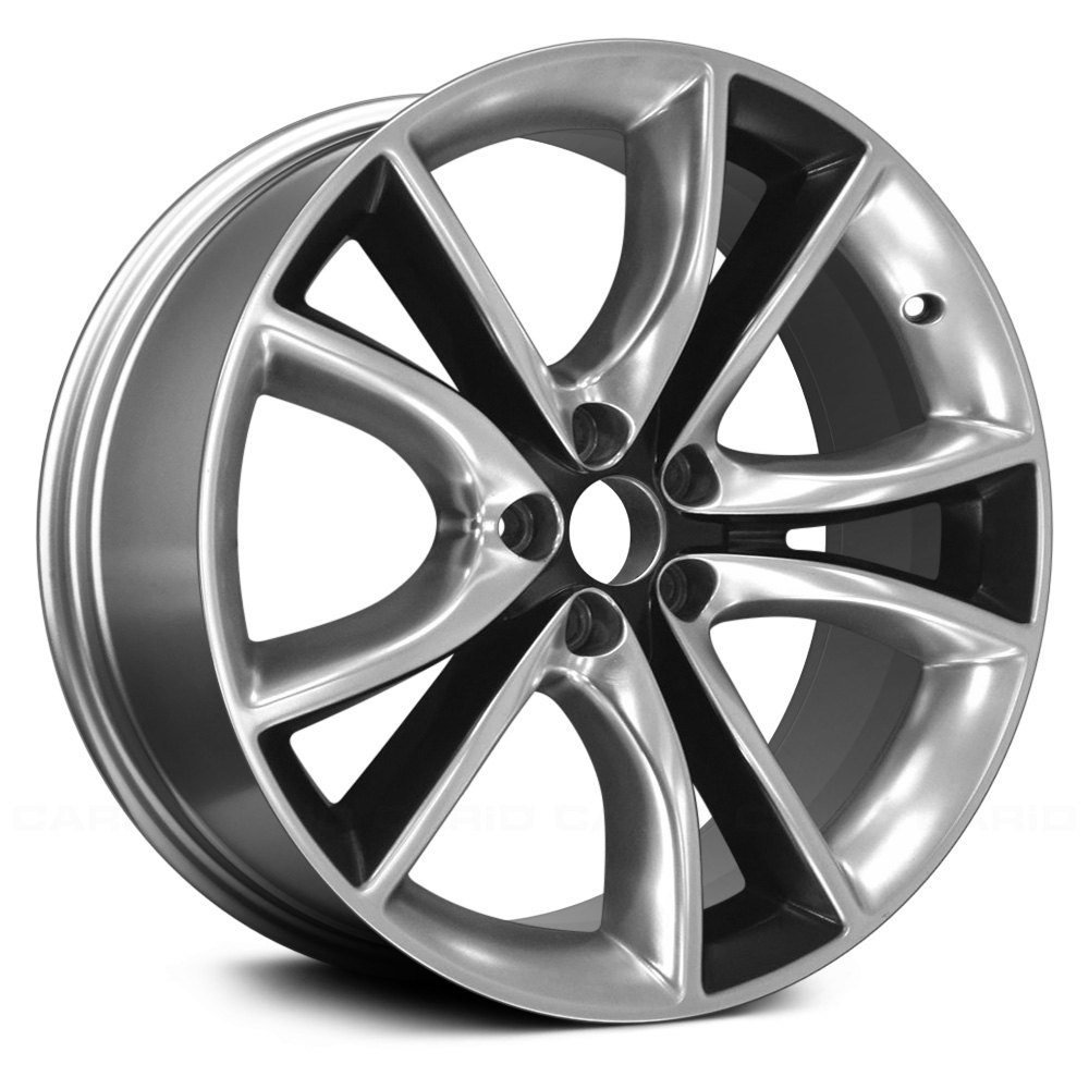 """Replace® - Dodge Charger 2016 20"""" Remanufactured 10 Spokes Factory Alloy Wheel"""