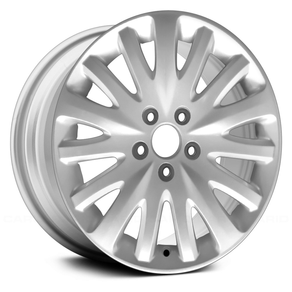 replace ford fusion 2010 2012 17 remanufactured 15 spokes silver factory alloy wheel. Black Bedroom Furniture Sets. Home Design Ideas