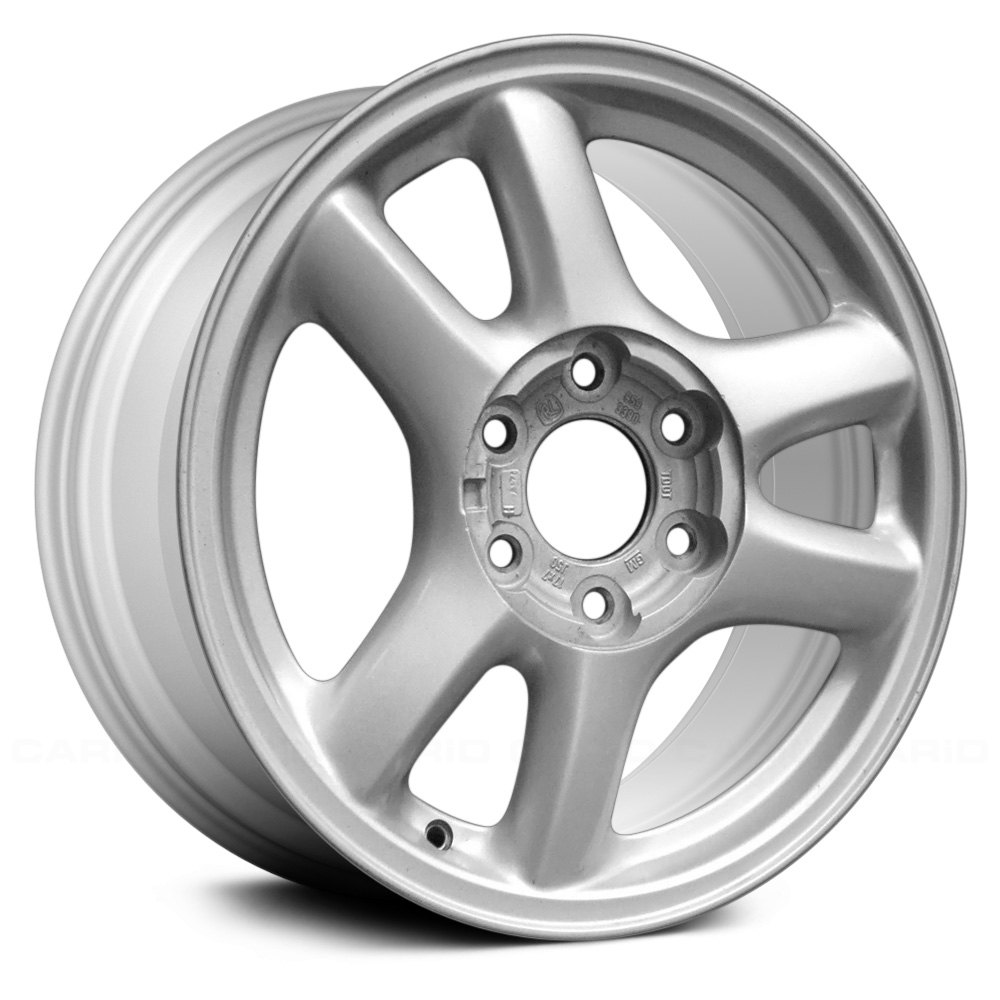 replace gmc envoy 2002 2003 17 remanufactured 6 spokes factory alloy wheel. Black Bedroom Furniture Sets. Home Design Ideas