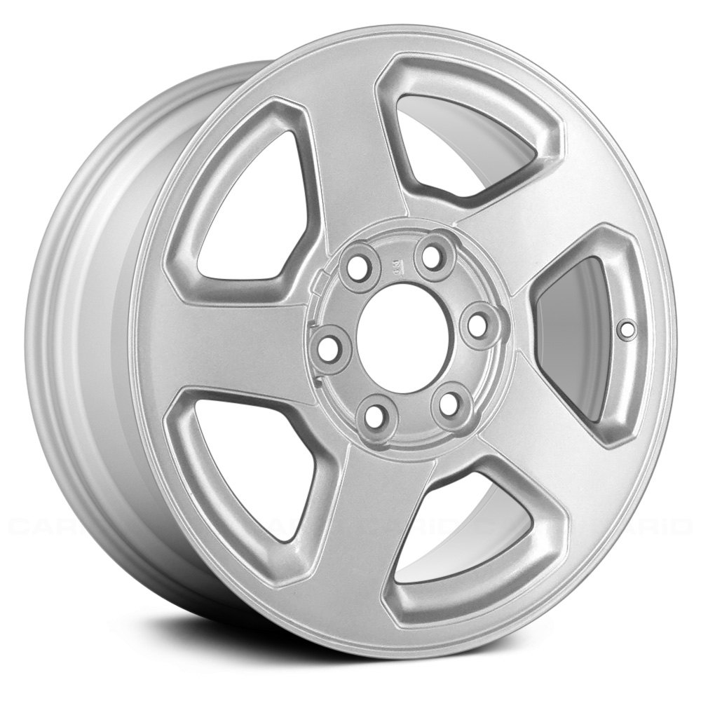 """Replace® - Chevy Trailblazer 2002-2006 16"""" Remanufactured 5 Spokes Factory Alloy Wheel"""