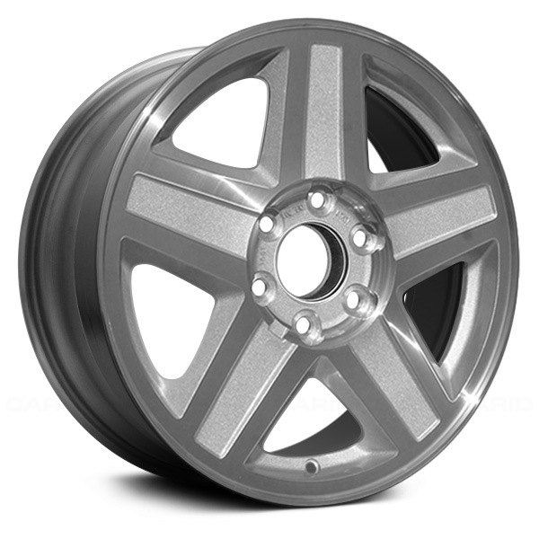 """Replace® - Chevy Trailblazer 2002-2003 17"""" Remanufactured 5 Spokes Factory Alloy Wheel"""
