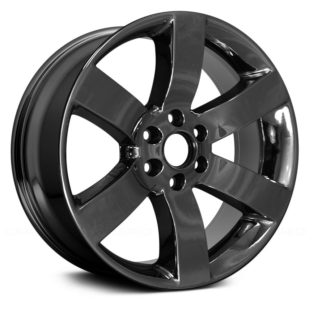 """Replace® - Chevy Trailblazer 2007-2008 20"""" Remanufactured 6 Spokes Factory Alloy Wheel"""