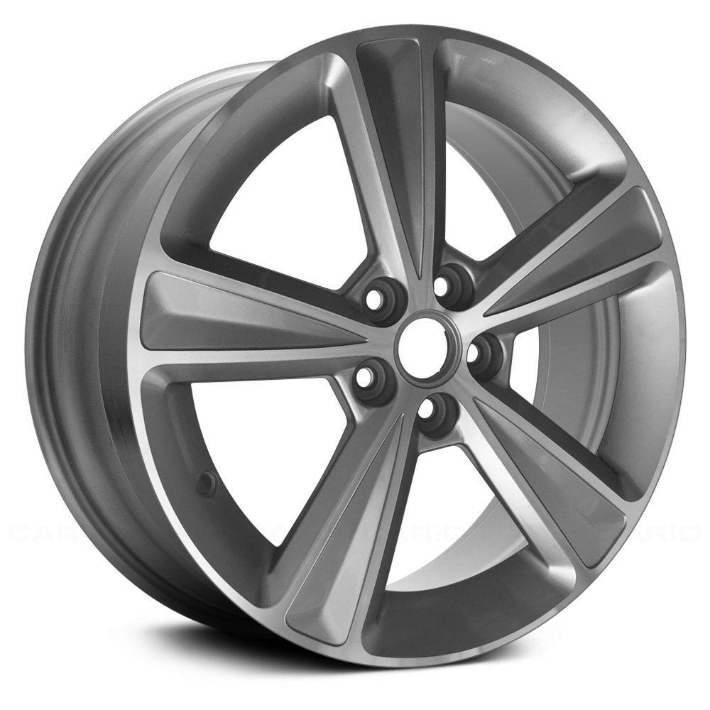 replace chevy cruze 2015 17 remanufactured 5 spokes factory alloy wheel. Black Bedroom Furniture Sets. Home Design Ideas
