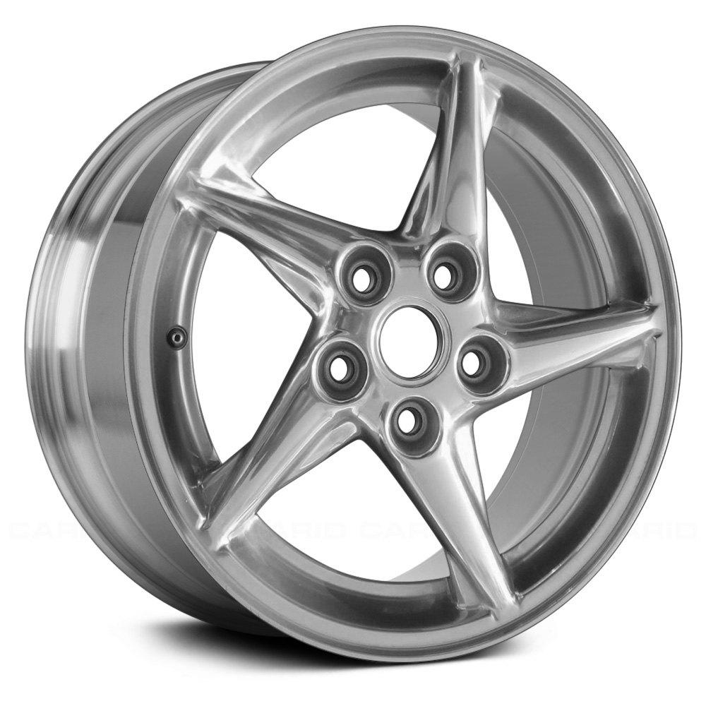 replace pontiac grand prix 1999 2003 16 replica 5 spokes factory alloy wheel. Black Bedroom Furniture Sets. Home Design Ideas