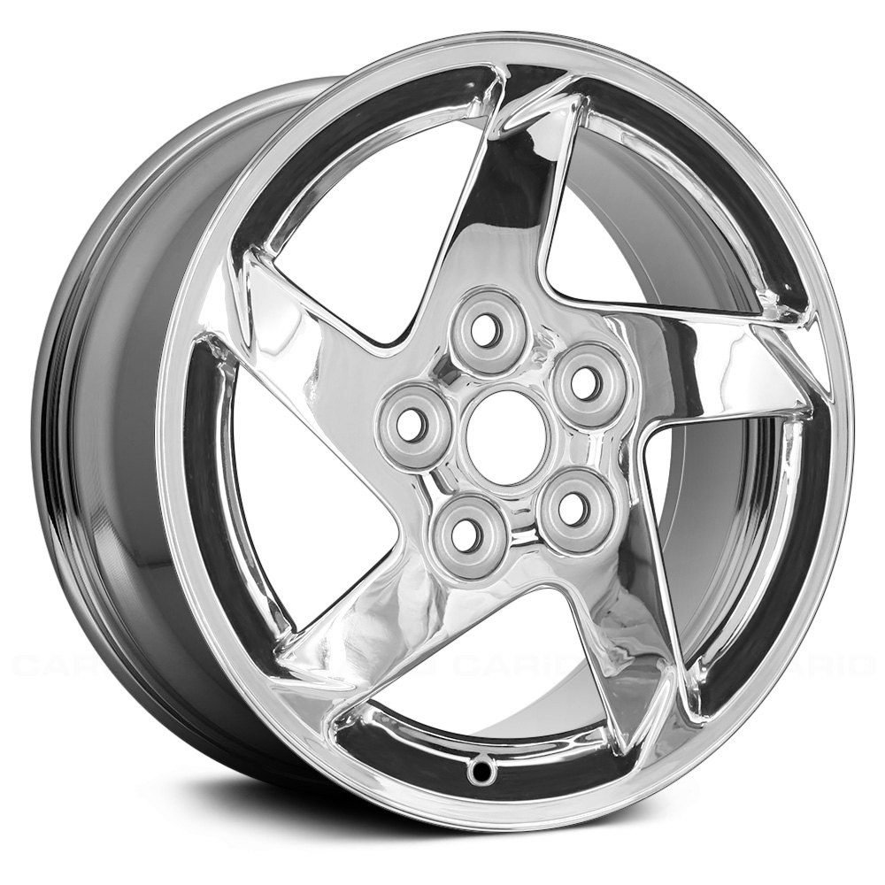 replace aly06564u85n pontiac grand prix 2005 16 replica 5 spokes chrome factory alloy wheel. Black Bedroom Furniture Sets. Home Design Ideas