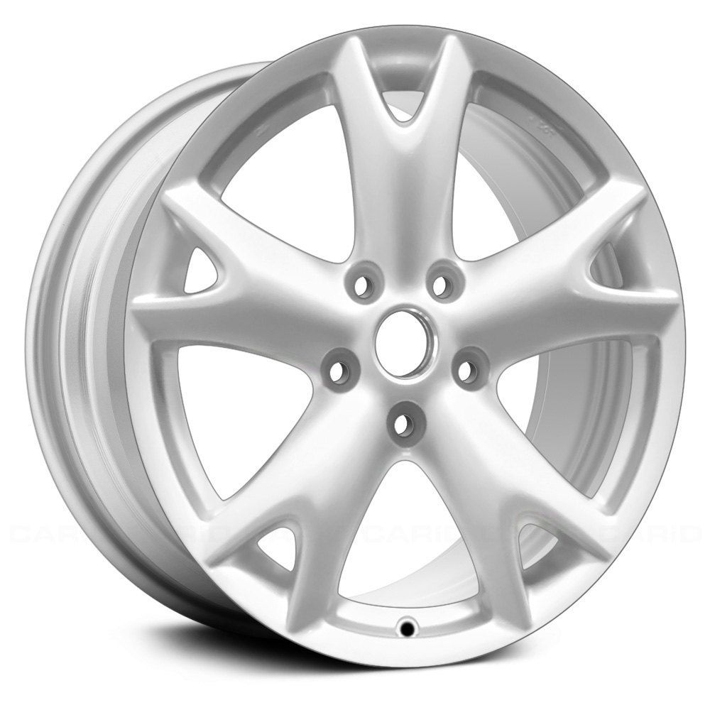 replace nissan rogue 2008 2013 17 remanufactured 5 y spokes factory alloy wheel. Black Bedroom Furniture Sets. Home Design Ideas