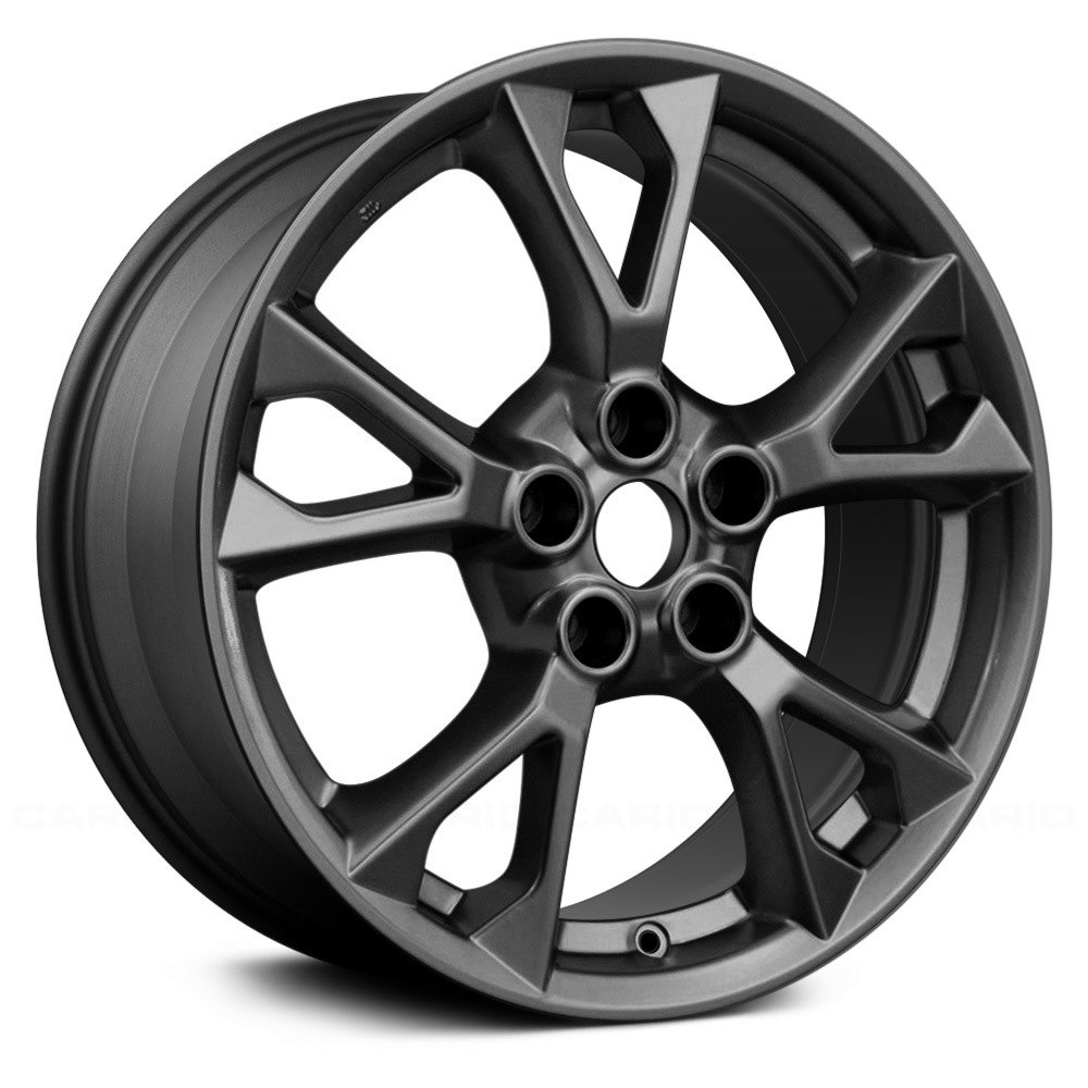 Replace nissan maxima 2012 2014 18 remanufactured 5 v spokes replace 18 remanufactured 5 v spokes all painted medium charcoal metallic factory alloy vanachro Images