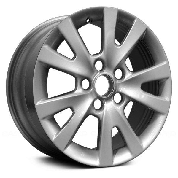 "For Sale 2008 Mazdaspeed 3 Wheels: Mazda 3 2008 16"" Remanufactured 5 Split Spokes Silver Factory Alloy Wheel"