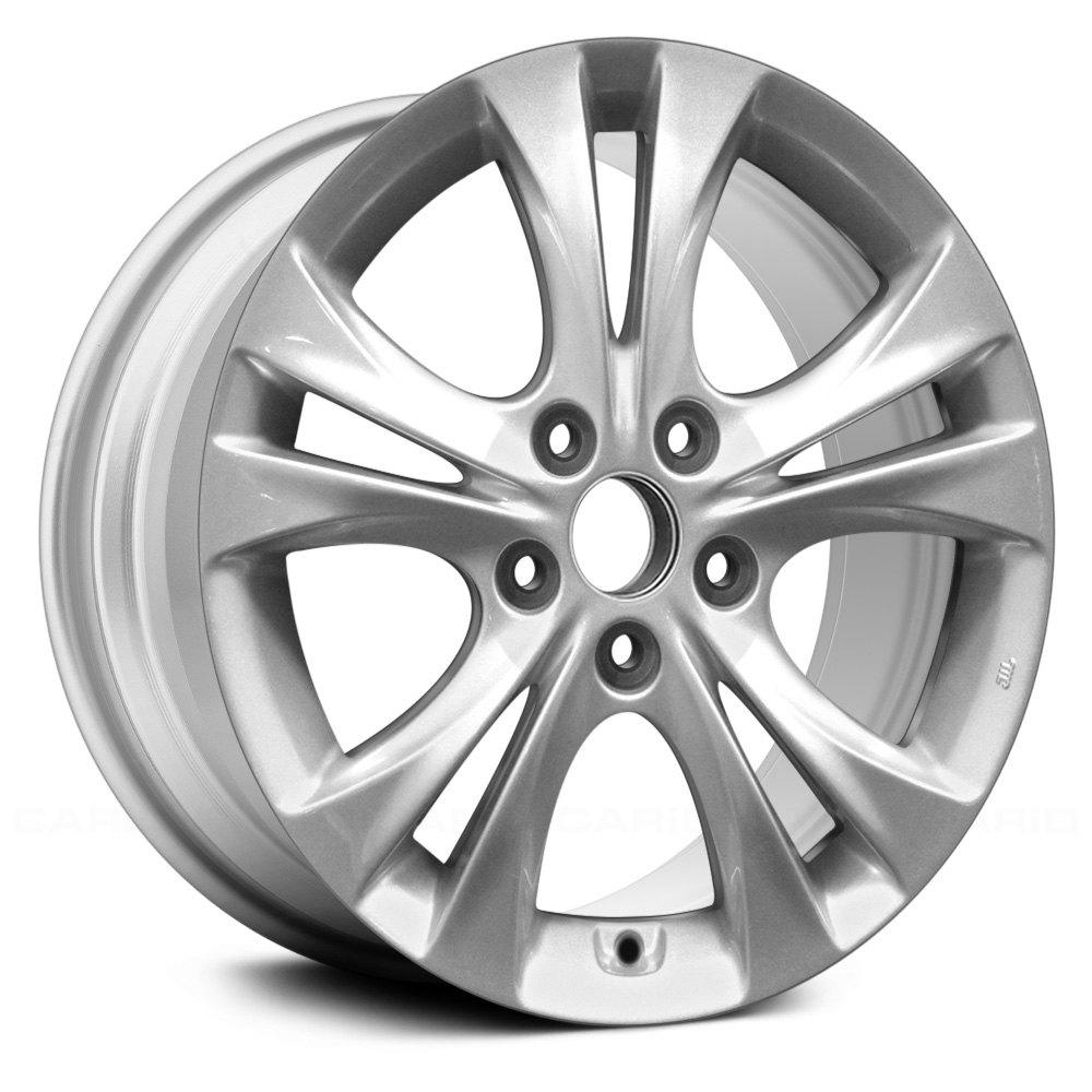 replace hyundai sonata 2011 17 remanufactured 10 spokes factory alloy wheel. Black Bedroom Furniture Sets. Home Design Ideas