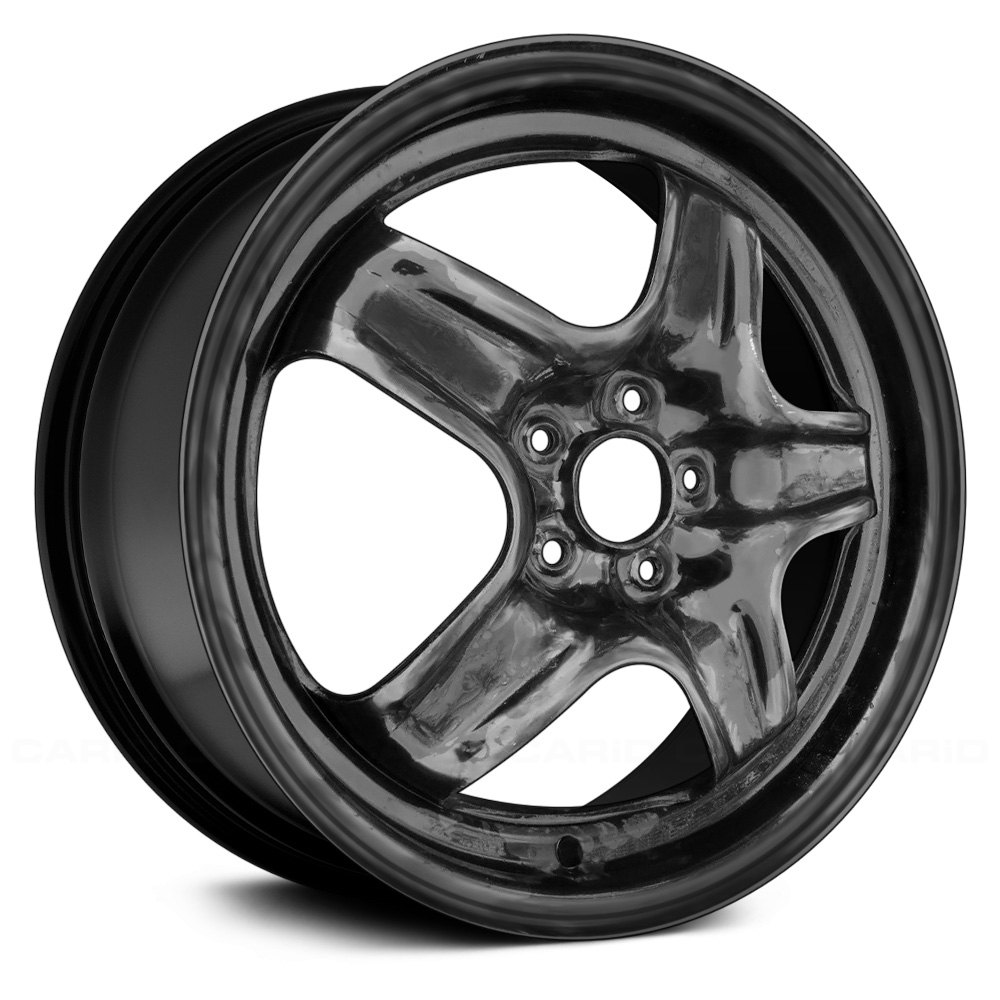 Used Steel Wheels : Replace stl u quot remanufactured spokes black