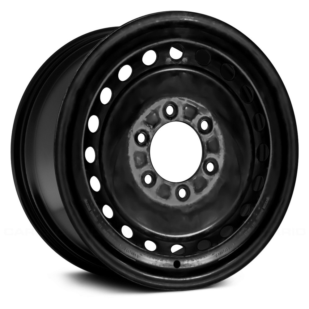 "Nissan Xterra Black Wheels >> Replace® STL62392U45 - 16"" Remanufactured Black Factory Steel Wheel"