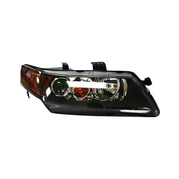 Acura TSX With Factory HID/Xenon Headlights