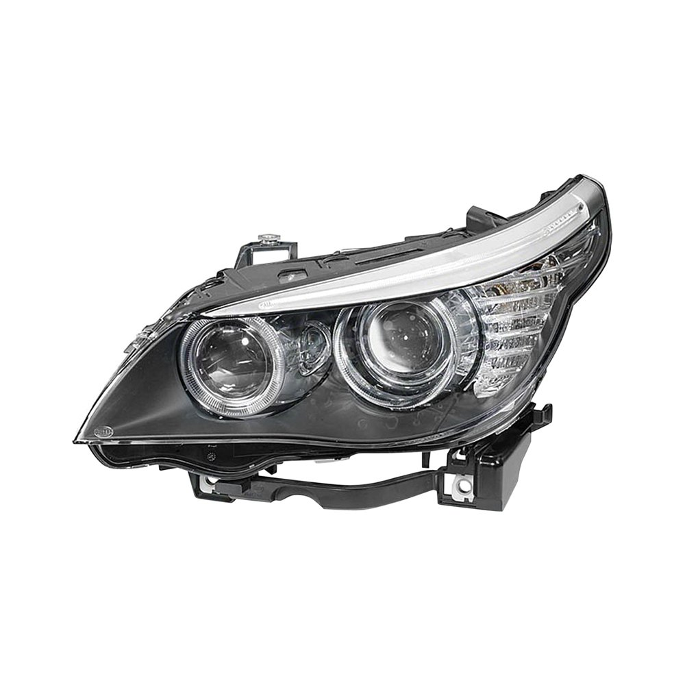 Replace 174 Bmw 5 Series With Factory Halogen Headlights