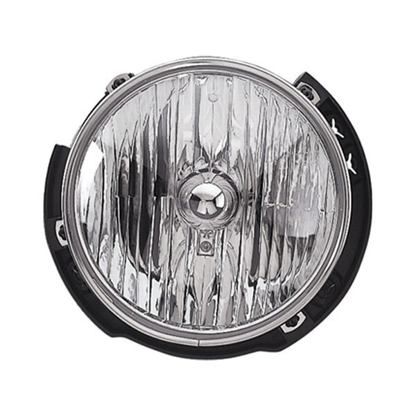 Replace jeep wrangler replacement quot round chrome